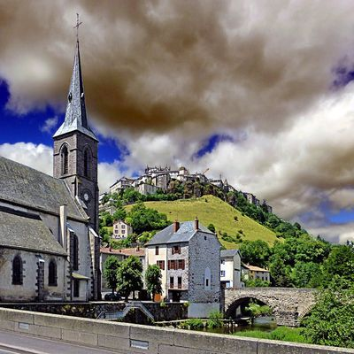France-Auvergne-Saint-Flour-Eglise